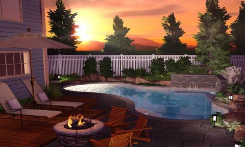 pool rendering - new braunfels pool company