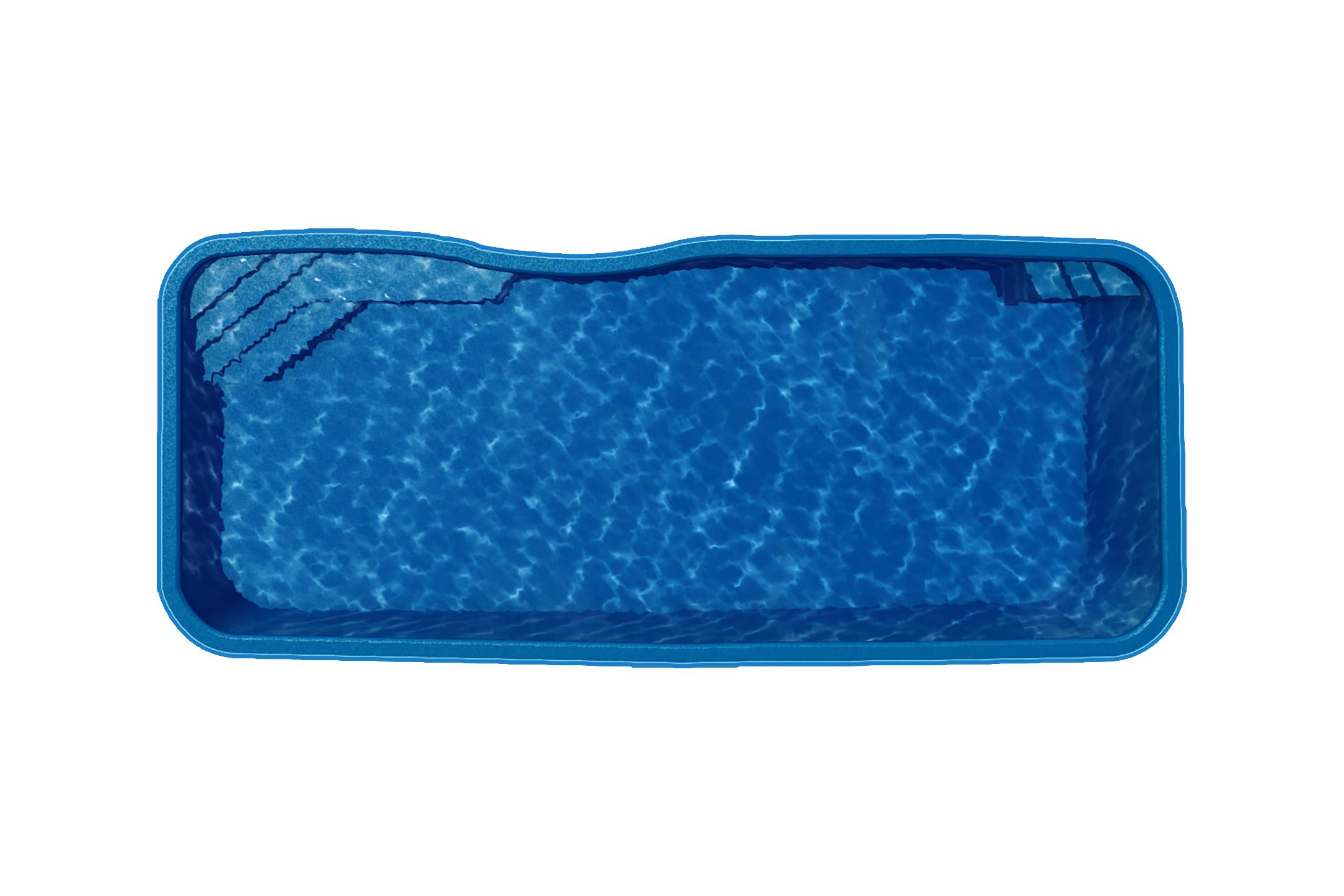 fiberglass pool - new braunfels pool company