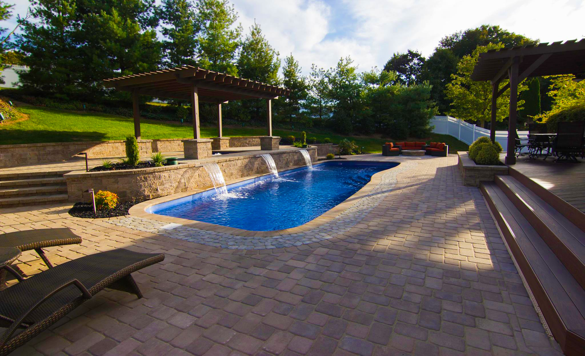 backyard oasis - swimming pool builders in san antonio