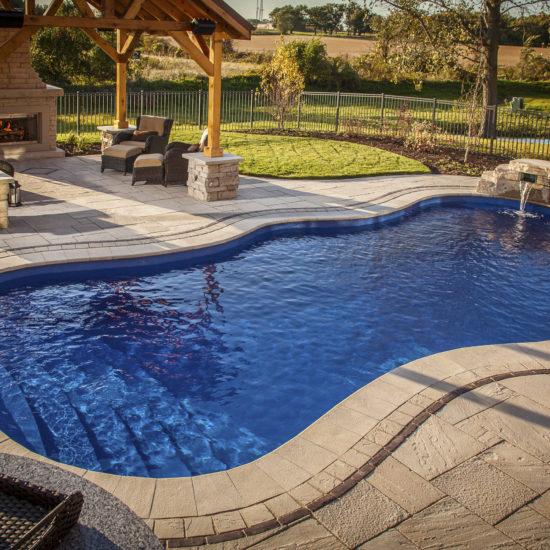 fiberglass pool - pool builders in san antonio tx