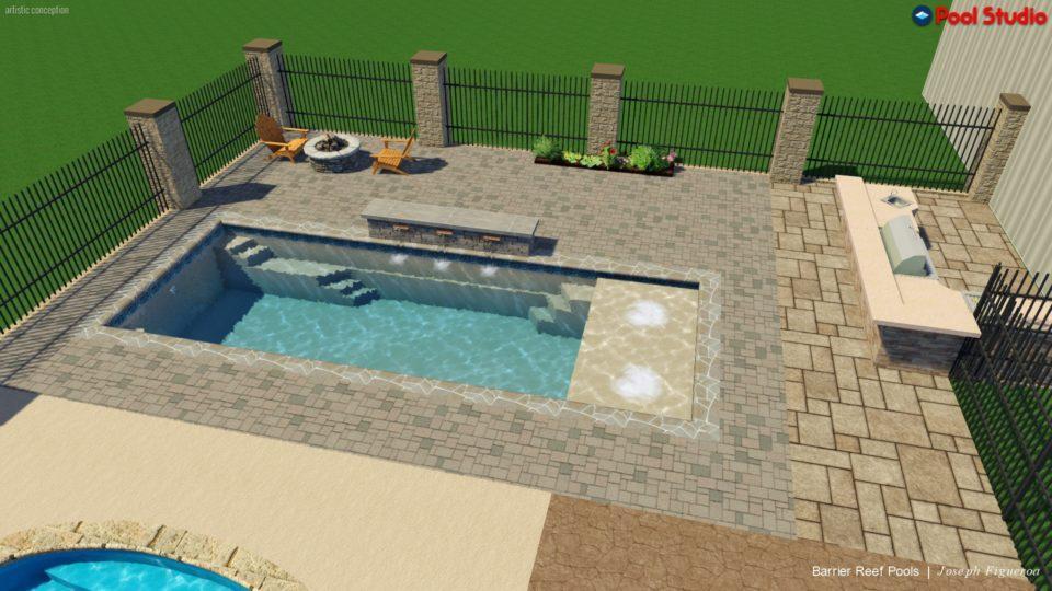 pool color - swimming pool builders san antonio
